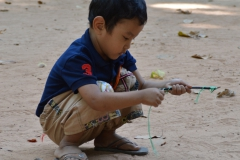 kid playing
