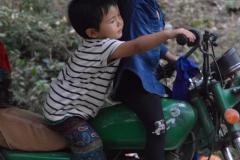 Kids on motorbike